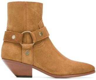 Saint Laurent West Harness boots