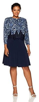 Jessica Howard Women's Size Jacket Multi Seamed Dress