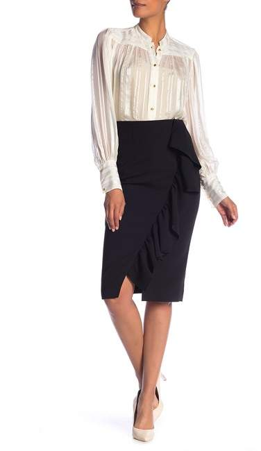 Ted Baker Ruffle Detail Pencil Skirt
