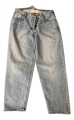 Monse Blue Cotton Jeans