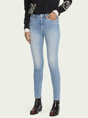 Scotch & Soda Haut - Clear Sky High-rise skinny fit jeans | Women