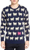 Scotch & Soda Men's Sheep Pattern Sweater