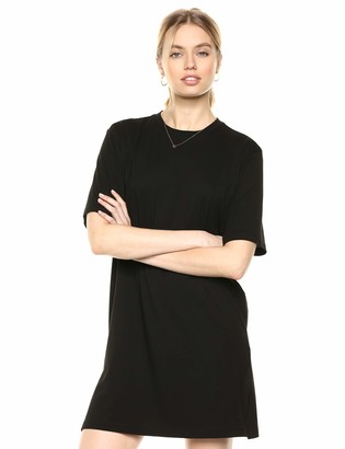 The Drop Women's Federica Short-Sleeve Crew Neck Mini T-Shirt Dress