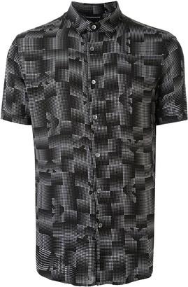 Emporio Armani graphic print shirt