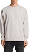 AllSaints Negotum Long Sleeve Crew Sweatshirt