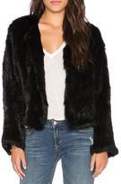 Elliatt Moment Rabbit Fur Jacket