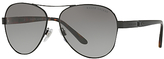 Ralph Lauren RL7054Q Aviator Sunglasses, Matte Black/Grey Gradient