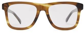 Gucci D Frame Acetate Glasses - Mens - Tortoiseshell