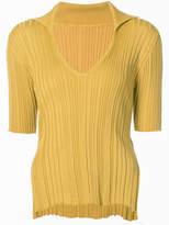 Jacquemus side-slit ribbed jumper