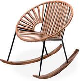 Mexa Ixtapa Rocking Chair - Camel Brown