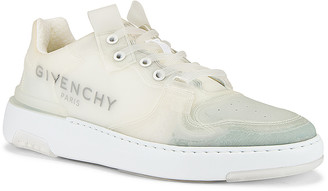Givenchy Wing Low Top Sneaker in White   FWRD