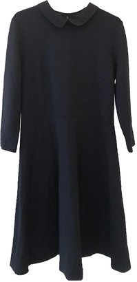 Hobbs Navy Cotton Dress for Women