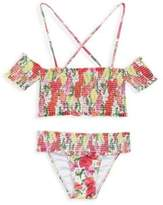 Pilyq Toddler's, Little Girl's & Girl's Smocked Bikini Set