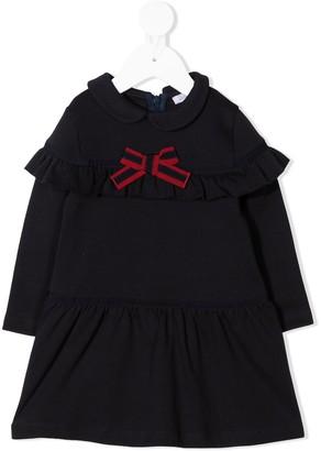 Patachou Ruffled Cotton Dress