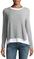 Generation Love Ellie Rib-Knit Layered Sweater