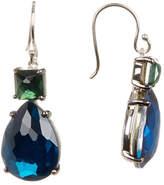 Ippolita Square & Teardrop Snowman Crystal Earrings
