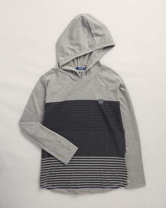 DKNY Boys 8-20) Long Raglan Sleeve Hooded Tee