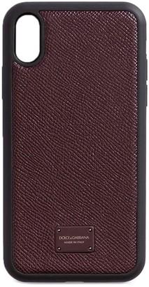 Dolce & Gabbana logo-plaque iPhone X case