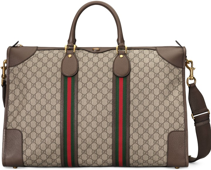 Gucci Ophidia GG large carry-on duffle