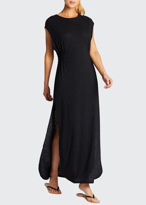 Vitamin A Sunny Sleeveless Crewneck Coverup Dress
