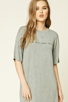 Forever 21 FOREVER 21+ More Love Less Hate Graphic Tee