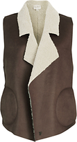 French Connection Winter Rhoda Gilet, Indian Tan