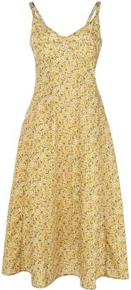 R 13 Ditsy Floral Print Dress