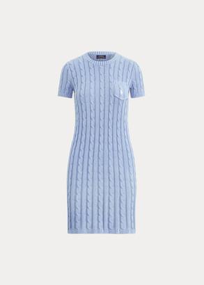 Ralph Lauren Cotton Short-Sleeve Dress
