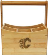 Calgary Flames Bamboo Utensil Caddy