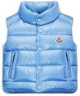 Moncler Infant Boys' Bernard Puffer Vest - Sizes 9-24 Months