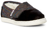 Toms Alpargata Faux Shearling Tiny Slip-On (Baby & Toddler)