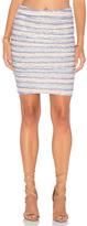 Velvet by Graham & Spencer Kipp Stripe Texture Knit Pencil Skirt