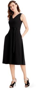 Calvin Klein Petite Embellished Belted Dress