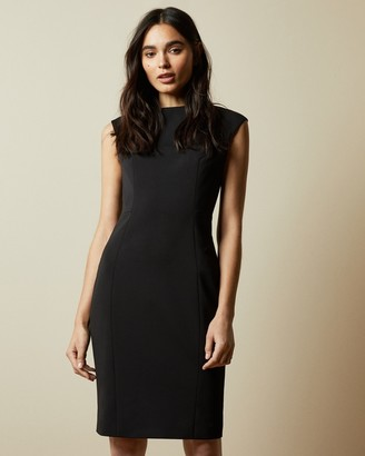 Ted Baker Boat Neck Midi Dress