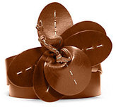 Michael Kors Leather Corsage Belt
