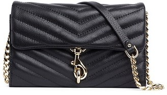 Rebecca Minkoff Edie Quilted Leather Wallet-On-Chain