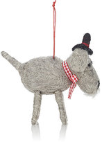 Midwest of Cannon Falls Felt Schnauzer Ornament