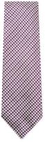 Tom Ford Chevron Embroidered Silk Tie