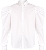 Marques Almeida MARQUES'ALMEIDA Puff-sleeved cotton-poplin shirt