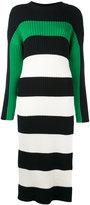 Stella McCartney long-length striped dress - women - Silk/Cotton/Virgin Wool - 40