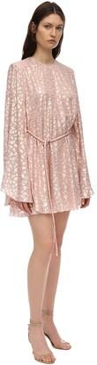 Stella McCartney Silk & Lurex Jacquard Mini Dress