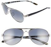 Oakley Women's Tie Breaker 55Mm Polarized Sunglasses - Chrome/ Grey P