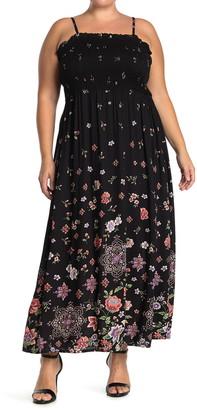 Angie Smocked Bodice Maxi Dress