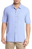 Tommy Bahama Men's Big & Tall 'Rio Fronds' Short Sleeve Silk Sport Shirt