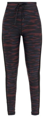 The Upside Camouflage-print Stretch-jersey Leggings - Camouflage