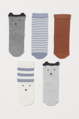 H&M 5-pack Socks - Gray