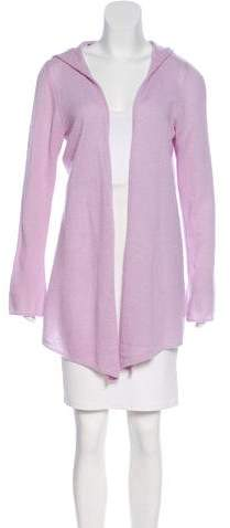 Minnie Rose Cashmere Open Front Cardigan