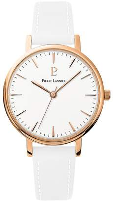 Pierre Lannier Womens Analogue Quartz Watch with Leather Strap 090G910