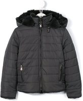 Tartine et Chocolat reversible padded coat