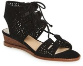 Vince Camuto Women's Retana Perforated Wedge Sandal
